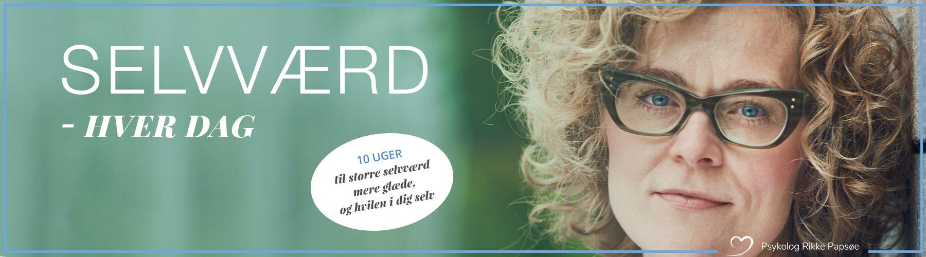 banner til online forløb om selværd